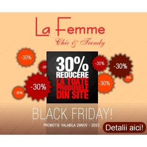 La Femme pune preturile la slabit de Black Friday