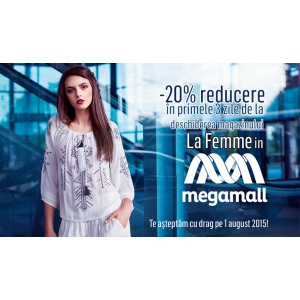 tex-as group s r l. La Femme deschide un nou magazin in Mega Mall-Bucuresti