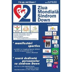 zmsd. Afişul oficial - Ziua Mondială Sindro Down - v1,0