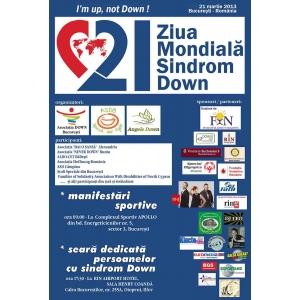 Celebrarea a VIII-a ediţii a ZILEI MONDIALE A SINDROMULUI DOWN - Bucureşti, 21 martie 2013