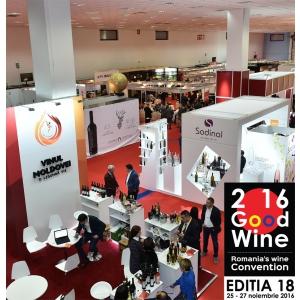 GOODWINE, cel mai mare târg din România dedicat vinului și industriei vinicole, anunță o ediție specială în 2017!