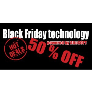 Black Friday: AttoSOFT – Cel mai mare discounter de pe piata IT din Romania