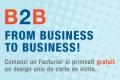 promovare business-to-business. B2B - From Business to Business