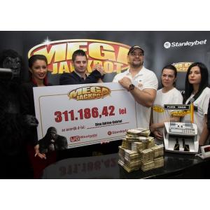 Aparatele Megajackpot i-au adus 70.000 euro unui bucureștean, cu doar 10 lei jucați