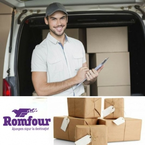 Cu Romfour, coletele tale ajung in siguranta la destinatie!
