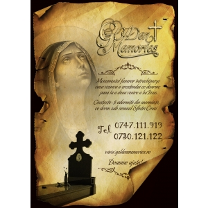 pret monument funerar. Vizitati http://www.goldenmemories.ro