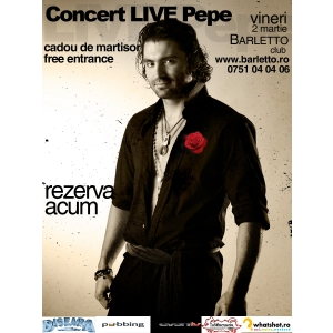 concert live. Concert Live Pepe in Club BARLETTO!