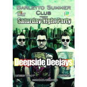 discoteca. DEEPSIDE DEEJAYS Live @ Barletto Summer Club