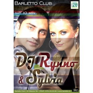 party revelion barletto club eveniment Dj Rynno Silvia Mattyas. Dj Rhynno & Silvia Live @ Barletto Club