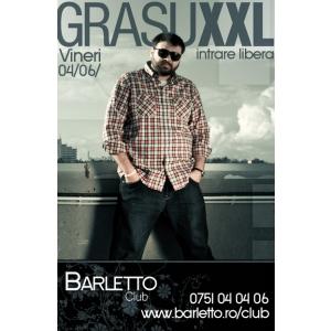 crema ten gras. Grasu XXL Live @ Barletto Club Vineri 06.04.2012