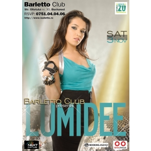 lumidee. Lumidee Live @ Barletto Club
