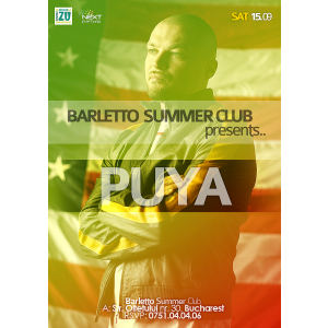 puya. Puya Live @ Barletto Summer Club