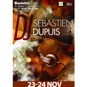 Sebaistien Dupuis from VIP Room @ Barletto Club