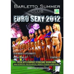 SEXY EURO 2012 PLAYMATES PARTY @ Barletto Summer Club!