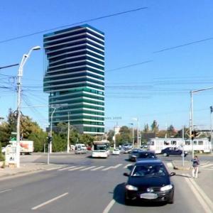 Razoare. Turn Razoare - vedere Blvd. Timisoara