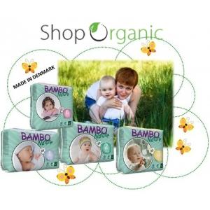 Bambo Nature, cele mai cunoscute scutece eco din lume acum si pe ShopOrganic.ro