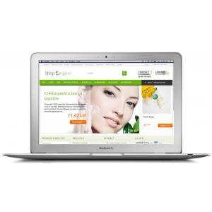 shoporganic ro. Cosmetice naturale, alimente bio, genti ecologice