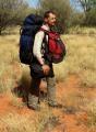 agar in desert. Alin Totorean a invins primii 135 de km de desert australian!