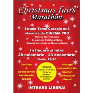 bvv trade fairs. Christmas Fairs'Marathon- Targul cu cele mai frumoase daruri de Craciun din centrul Bucurestiului