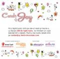 """chocolat. Heidi Chocolat lansează campania de responsabilitate socială """"Cards of Joy"""""""