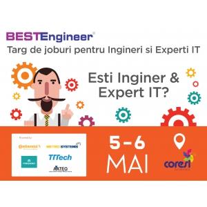 Angajatori din Brasov, Bucuresti, Sibiu si Iasi, recruteaza la targul de job-uri pentru ingineri si experti IT - BESTEngineer!