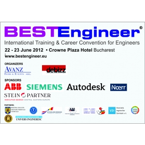 www bestengineer eu. BESTEngineer - Targ de joburi pentru ingineri, 22-23 iunie2012, Crowne Plaza Hotel Bucuresti