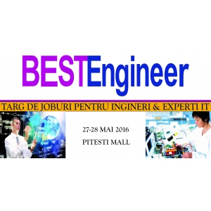 Singurul Targ de Job-uri pentru ingineri din toate domeniile si experti IT, ajunge la Pitesti Mall pe 27-28 mai 2016!