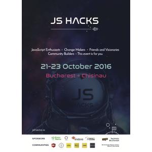 hackathon. JS Hacks Bucharest - Hackathon dedicat pasionatilor de JavaScript din Bucuresti