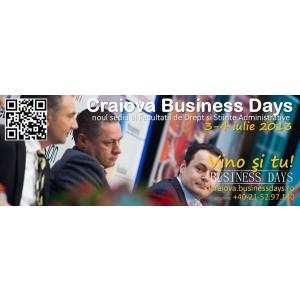Evenimentul Craiova Business Days - cea mai mare oportunitate de networking si afaceri pentru mediul de business local