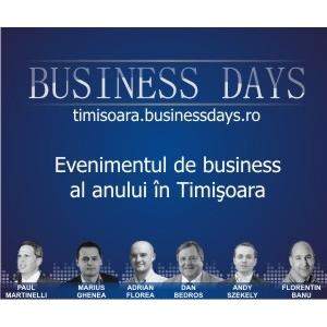 eveniment deschidere. Mai sunt 5 zile pana la deschiderea portilor celui mai mare eveniment de business din Timisoara