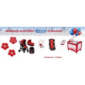 1, 2, 3 Start la Graco Days Super Sales!