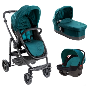 Graco Evo  II Trio Harbour Blue