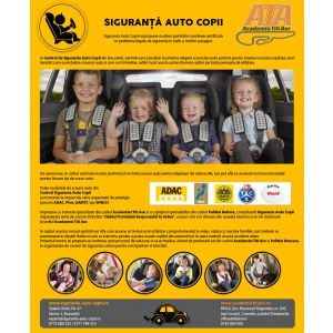 Centrul Siguranta Auto Copii te asteapta la Baby Boom Show