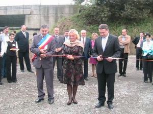 Primarul Daniel Thellmann a participat  la deschiderea lucrărilor de construcţii a noii fabrici de cablaje electrice din Mediaş