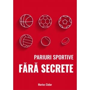 S-a lansat prima carte dedicată jocurilor de noroc din România – Pariuri sportive fara secrete