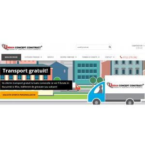 urban-concept. Urban Concept Construct SRL lansează noul magazin online