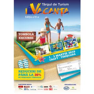 Concedii la prețuri reduse, la Târgul de Turism Vacanța Timișoara