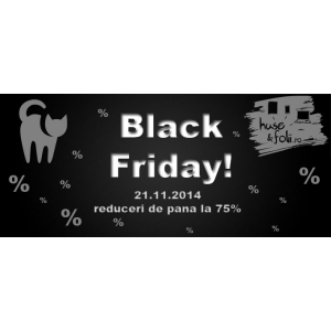 huse-folii ro. Black Friday 2014