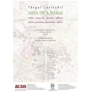 darui. Afis Targ Caritabil- Editia a IIa