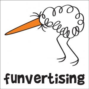 funvertising. AdVenture spune stop joc. Funvertising spune start.