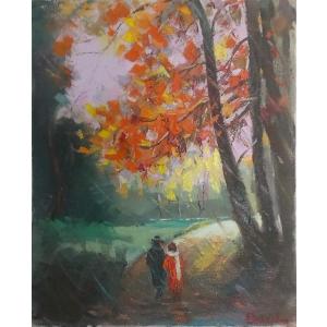 expozitie. Impresionismul prin ochii lui Andrei Branisteanu: Expozitie online de pictura cu vanzare