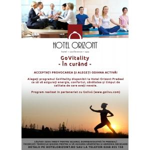 govitality.  Hotel Orizont din Predeal promovează odihna activă