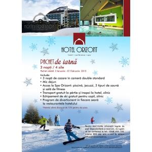 schi. Hotel Orizont Predeal prezintă noile pachete pentru schi
