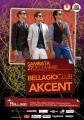 sambata. Sambata dansam cu Akcent la Club Bellagio - Sambata 27 Decembrie