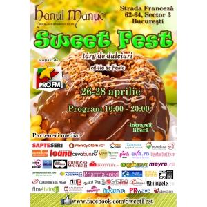 Degustari de delicii si demonstratii interactive de arta culinara in acest weekend, la  Sweet Fest, festivalul de dulciuri gourmet
