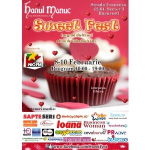 Sweet Fest, targ de dulciuri de Valentine's day