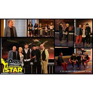 Jo şi Juju în ediţia 5 a emisiunii MyKARAOKE STAR cu Mc NiNO, DJ GORE si Robert Tache la TVH