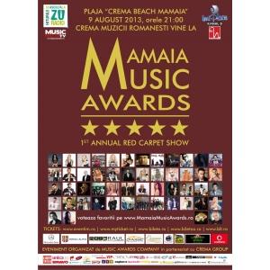 Mamaia Music Awards 2013, vineri, 9 august, plaja