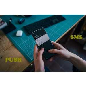 notificari sms. notificari push vs sms