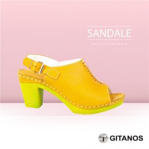 Sandale din piele naturală - GITANOS